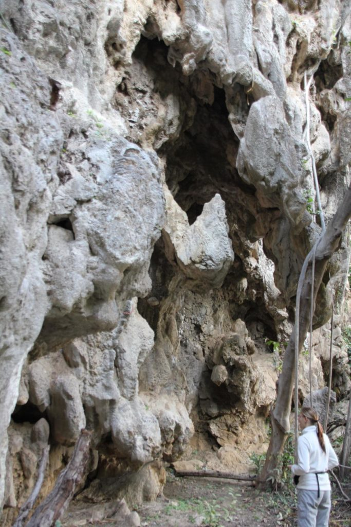 Laos, Thakhek, klettern