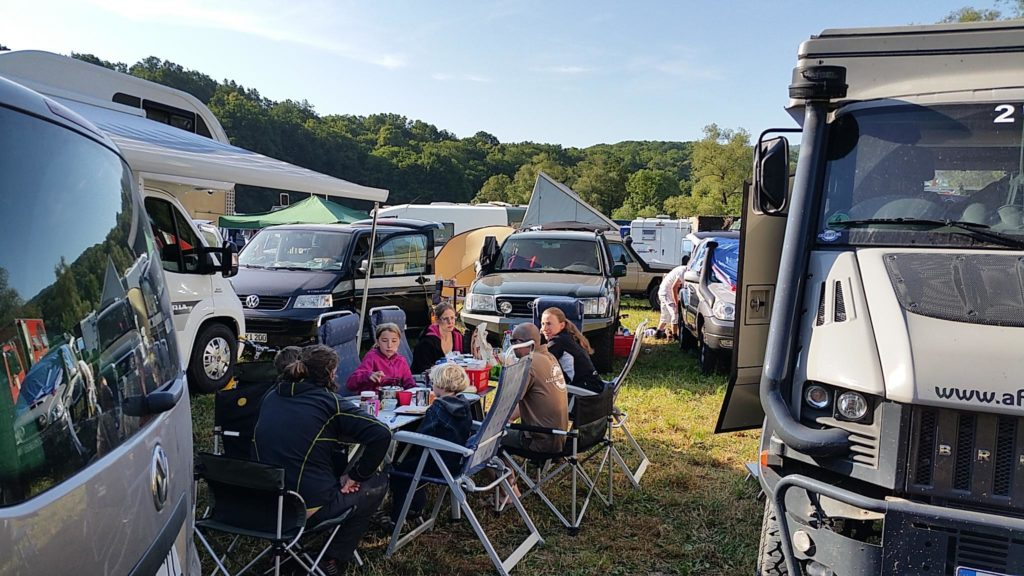 Bad Kissingen, Fränkische, Messe, Klettern, Allrad