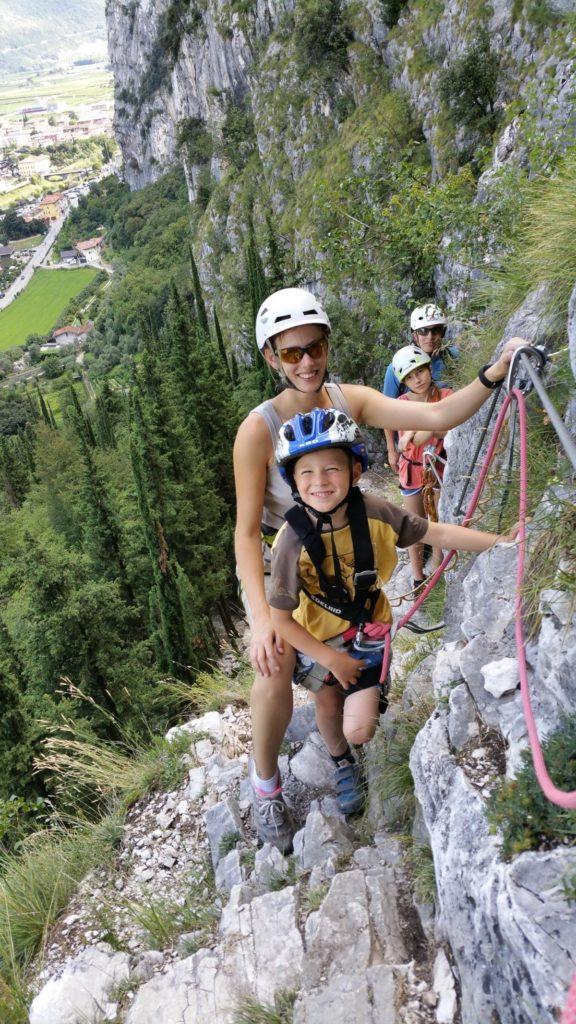 Österreich, Italien, Frankreich, klettern