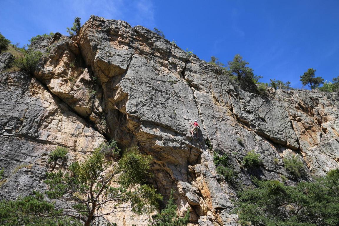 Klettern Casse de Prelles Briançon 01
