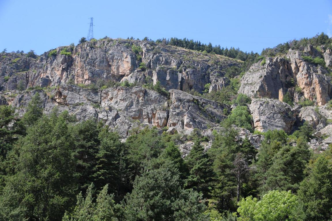 Klettern Casse de Prelles Briançon 02