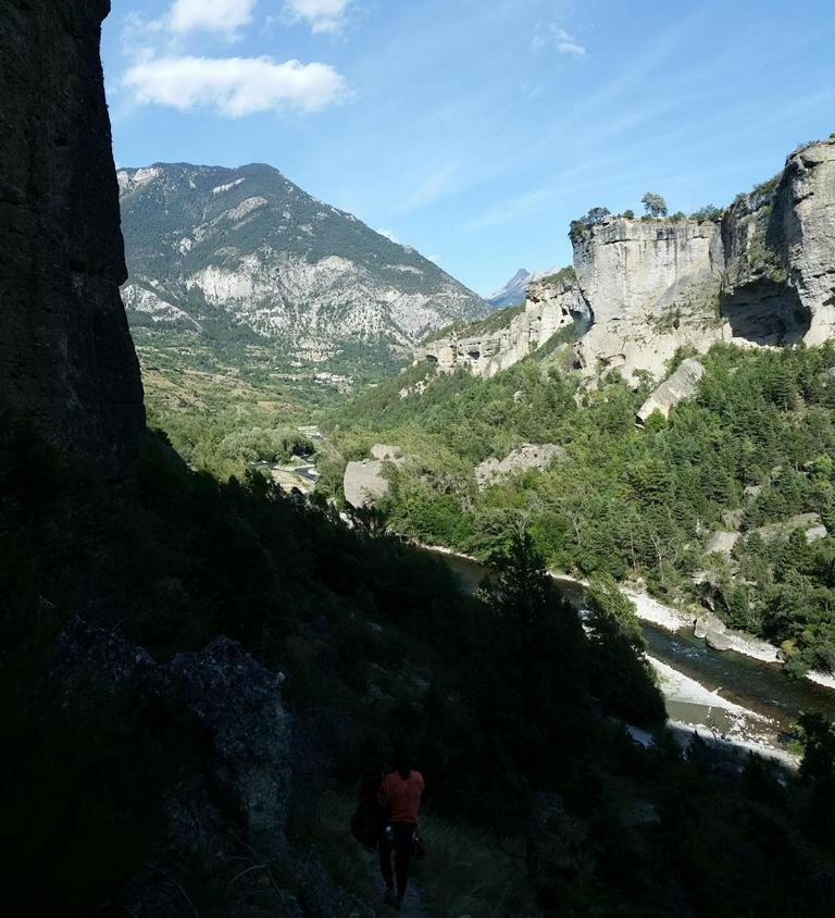 Klettern Mont-Dauphin Briançon 02