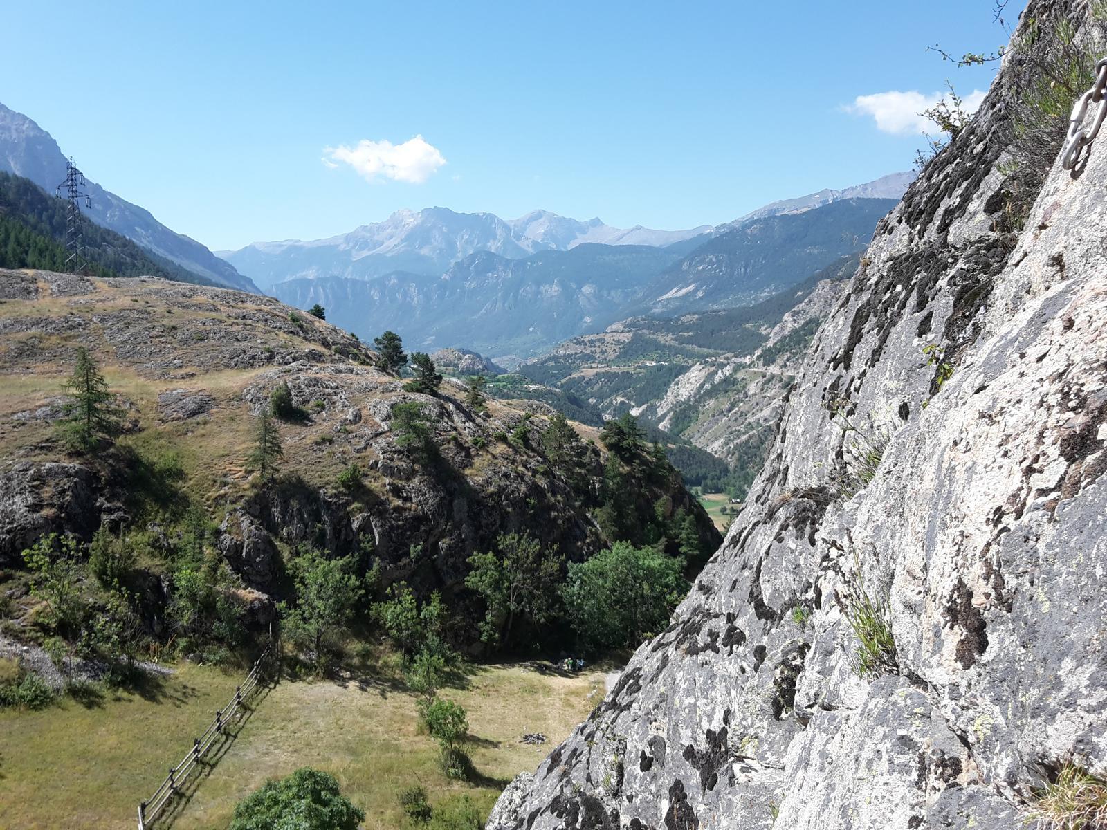 Klettern Rocher-Baron Briançon 02