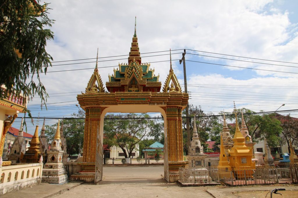Tempel in Thakhek