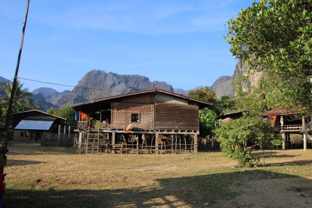 laotisches Dorf