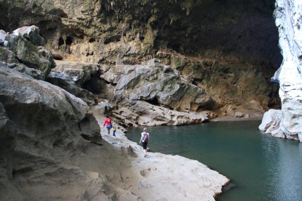 Noch eine Höhle