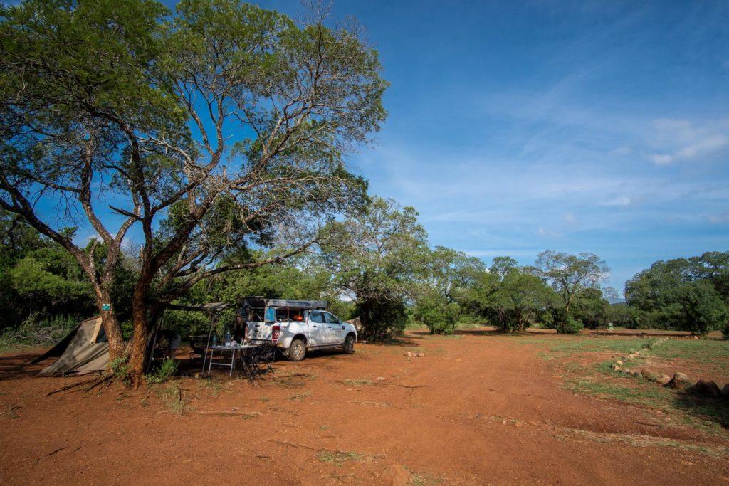 Camping im Ithala