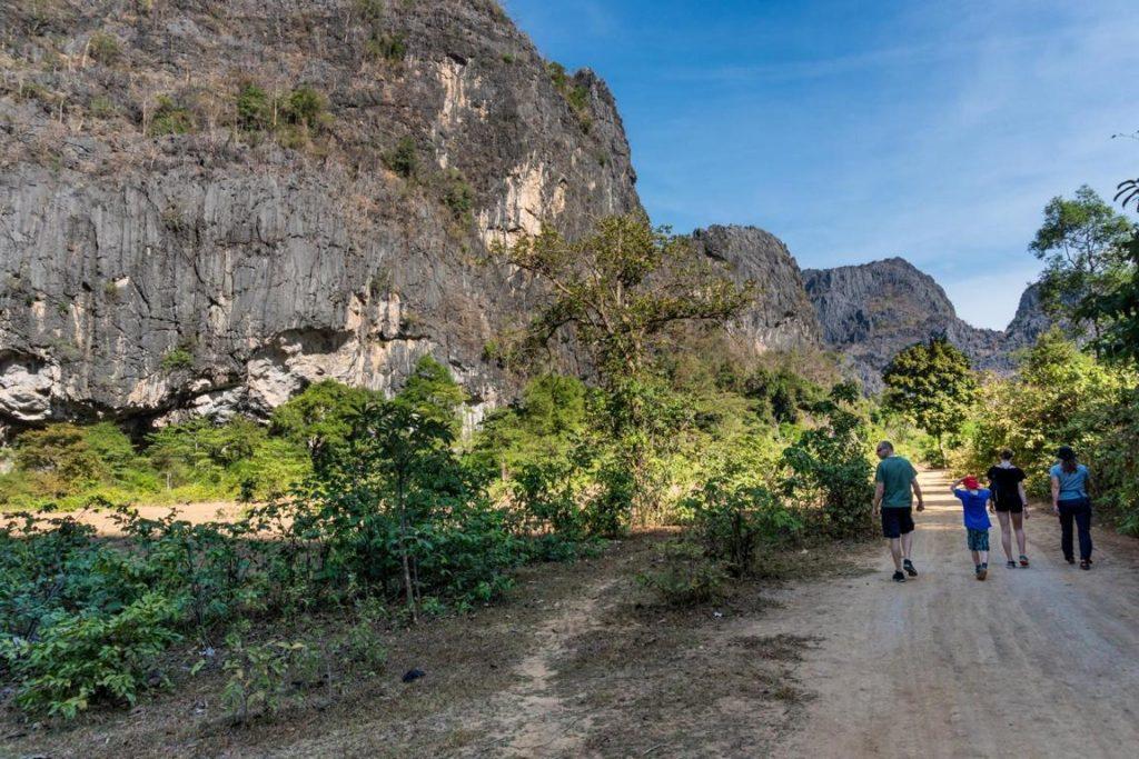 Wanderung zum Tha Falang