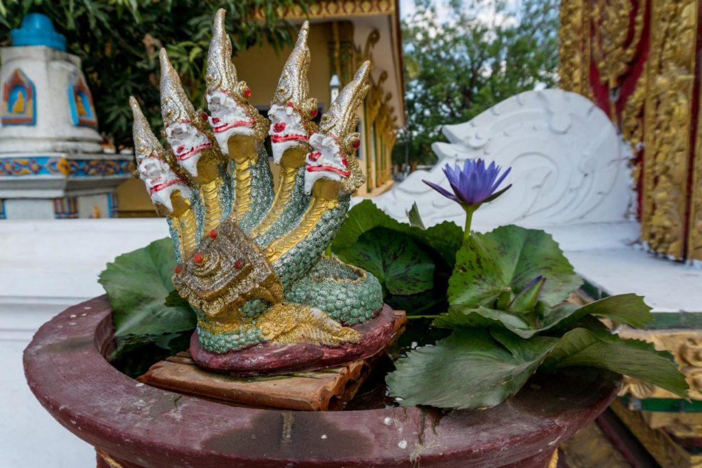 Tempel am Mekong