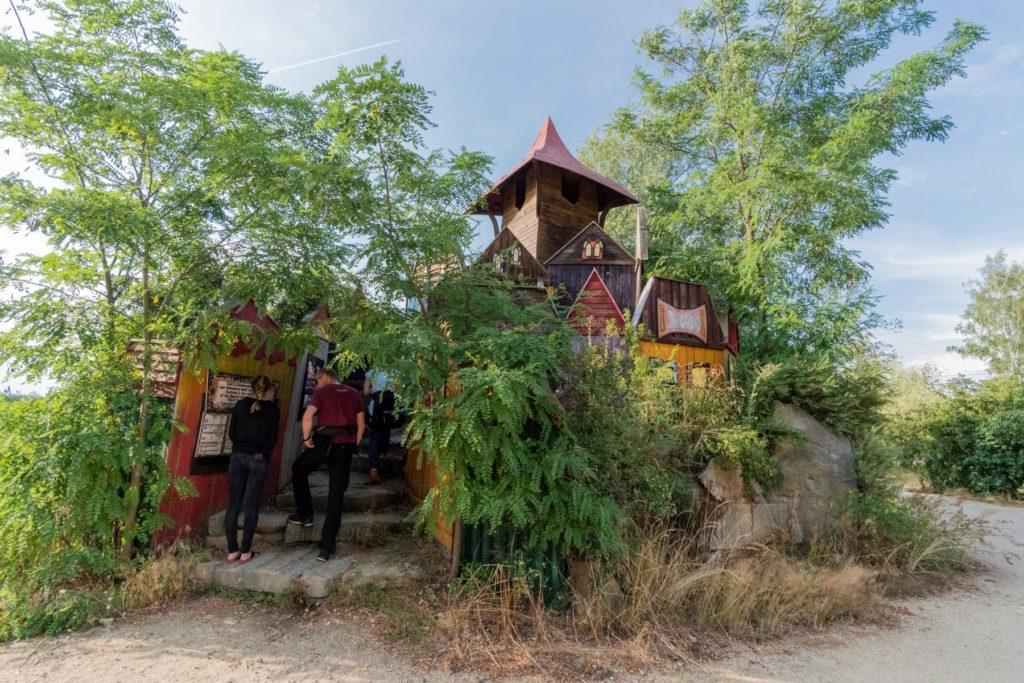 Kulturinsel Einsiedel Parkplatz 4