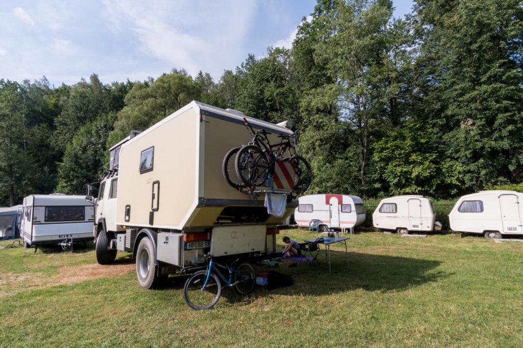Campingplatz in Ustrón