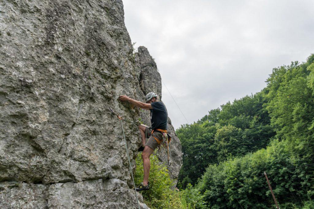 Klettern bei Krakau