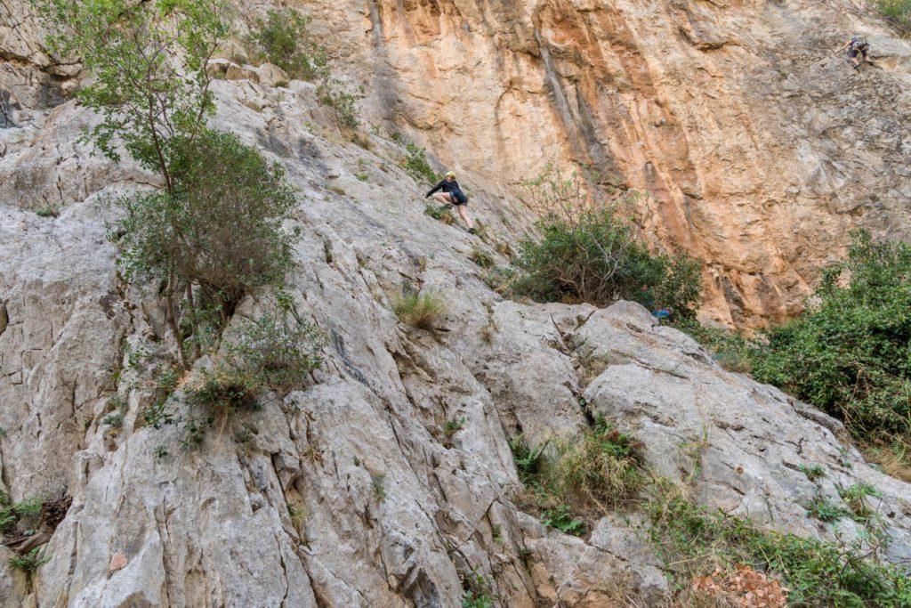 2019, Sardinien, Klettern