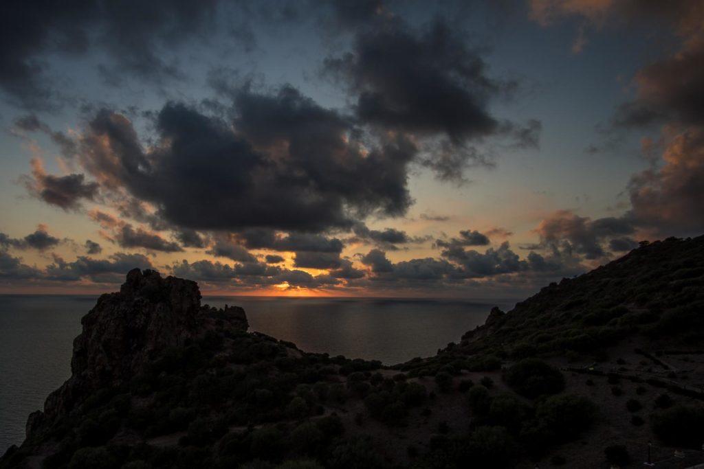 Sonnenuntergang in Nebida 1
