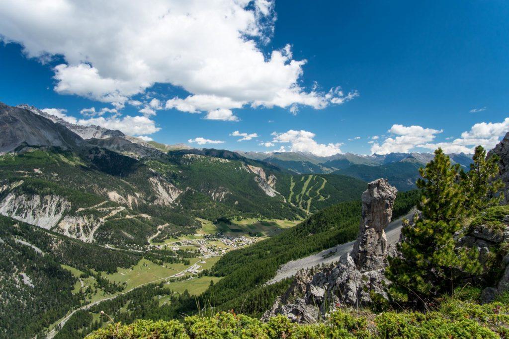 Wandern Col du Cros