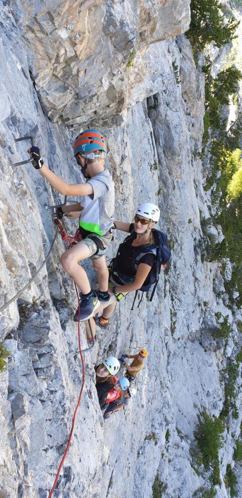 Klettersteig 2