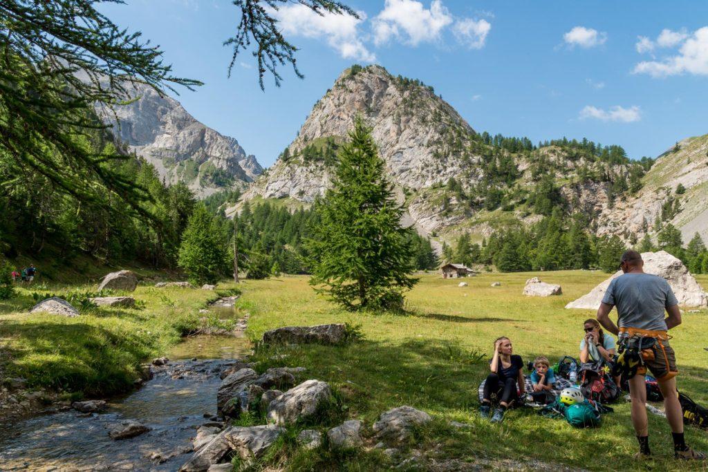 Basecamp Arvieux Klettern