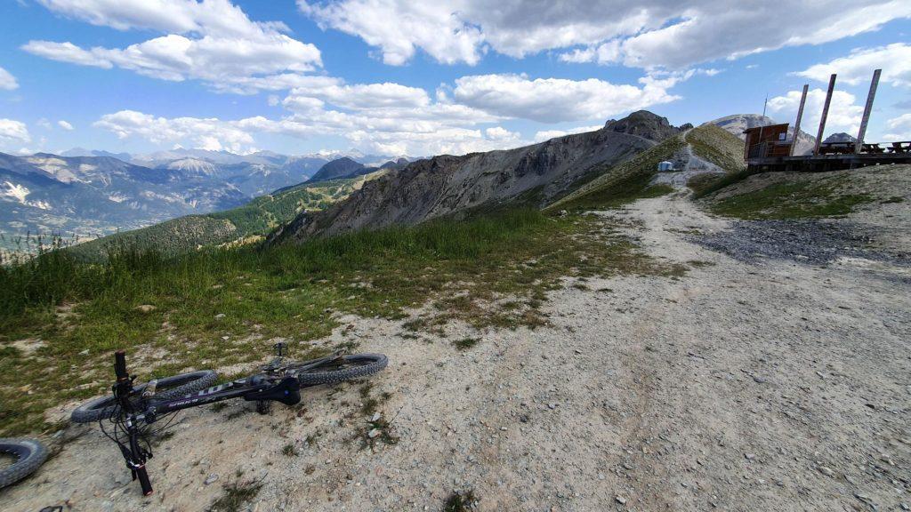 La Salle-Les-Alpes biken