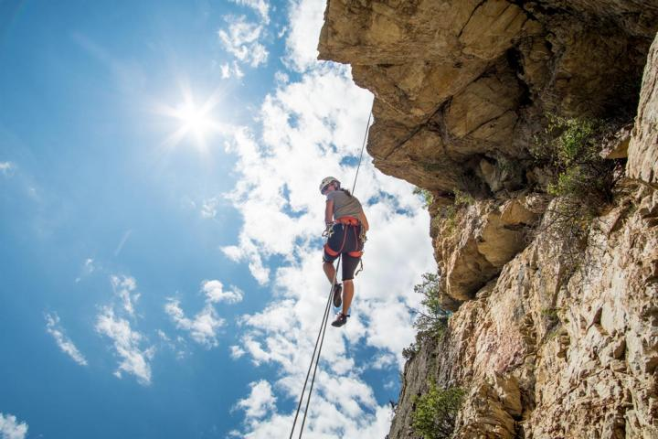 klettern in Frankreich